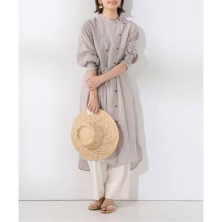 IENA SLOBE - SLOBE IENA Fi.m デザインカラーロングシャツ