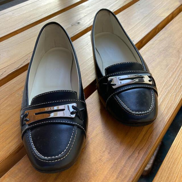 TOD'S(トッズ)のもりぃさま専用 トッズ シューズ 37.5 23.5cm位美品 TODS レディースの靴/シューズ(その他)の商品写真