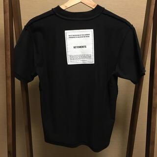 バレンシアガ(Balenciaga)のVETEMENTS inside out cut tee(Tシャツ/カットソー(半袖/袖なし))