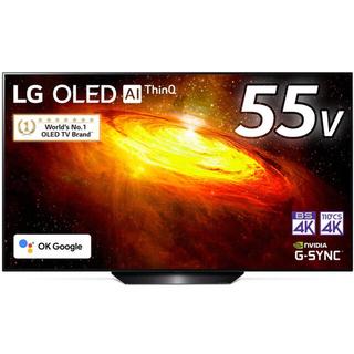 LG Electronics - ほぼ新品 LG55型4Kチューナー内蔵 有機ELテレビOLED 55BXPJA