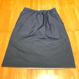 ユニクロ(UNIQLO)のUNIQLO Mサイズ 中綿ラップスカート(その他)