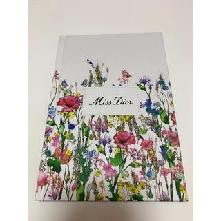 ディオール(Dior)の【新品未使用品】Dior ディオール 花柄 ノート ノベルティ 非売品(ノート/メモ帳/ふせん)