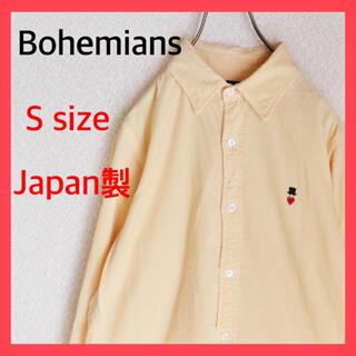 ボヘミアンズ(Bohemians)のBohemians ボヘミアンズ コーデュロイシャツ ワンポイント ロゴ 古着(シャツ)