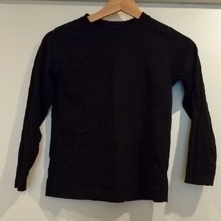 GU - GU ロング Tシャツ ブラック140センチ