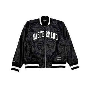 mastermind JAPAN 20SS バーシティジャケット ブラック(スカジャン)