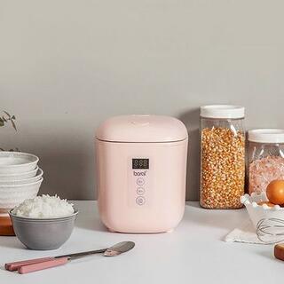 アウトレット☆ミニ電気炊飯器 BR-M250RC ピンク(炊飯器)