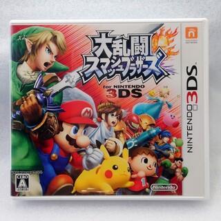 ニンテンドウ(任天堂)の大乱闘スマッシュブラザーズ for Nintendo 3DS (スマブラ3DS)(携帯用ゲームソフト)