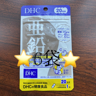 DHC - 専用です❣️❣️亜鉛⭐️DHC⭐️20日分6袋