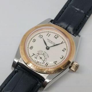 バツ(BA-TSU)の【正規】メンズバツ ラウンド スモセコ 全数字 アンティーク レディース腕時計(腕時計)