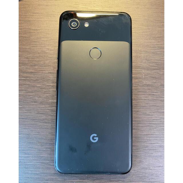 Google Pixel(グーグルピクセル)のsimフリー グーグルピクセル3a ブラック Googlepixel 3a スマホ/家電/カメラのスマートフォン/携帯電話(スマートフォン本体)の商品写真