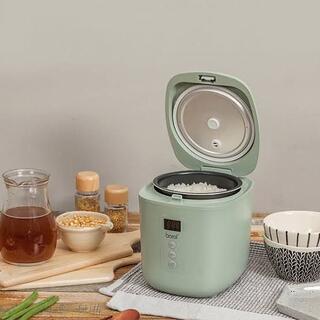 アウトレット☆ミニ電気炊飯器 BR-M250RC グリーン(炊飯器)