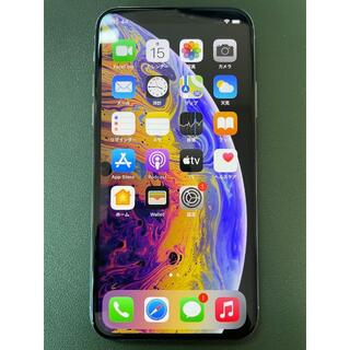 アイフォーン(iPhone)の【iPhone XS】シルバー 64GB SIMフリー(スマートフォン本体)