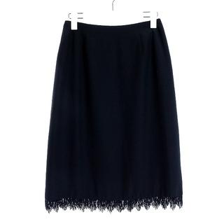 ルネ(René)のルネ Rene boutique タイトスカート ひざ丈 裾装飾 9 M(ひざ丈スカート)