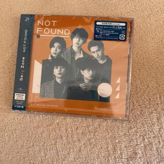 セクシー ゾーン(Sexy Zone)のNOT FOUND(初回限定盤B)(ポップス/ロック(邦楽))