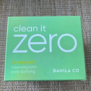 バニラコ(banila co.)のバニラコ クリーンイットクレンジングバーム 毛穴ケア 新品(クレンジング/メイク落とし)