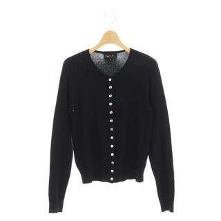 agnes b. - アニエスベー 19年製 コットンカーディガン ニット 長袖 2 黒 ブラック