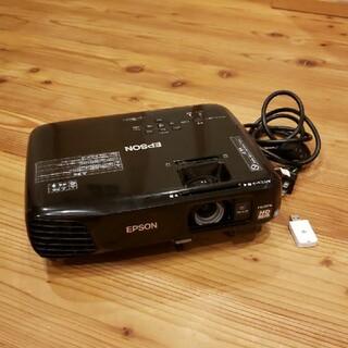 エプソン(EPSON)の【プロジェクター】EPSON EH-TW410&ワイヤレスELPAP07付き(プロジェクター)