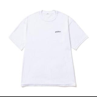 1LDK SELECT - goodness logo crew neck T-shirt (WHITE)