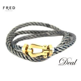 フレッド(FRED)のFRED フレッド フォース10 LM ラージ PG製 3重ブレスレット(ブレスレット)