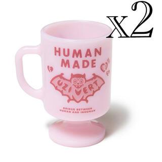 Lil Uzi Vert × HUMAN MADE Milk Mug Pink(グラス/カップ)