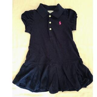 ラルフローレン(Ralph Lauren)のラルフローレン ポロシャツ ワンピース 12M 80cm(シャツ/カットソー)