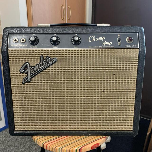 Fender(フェンダー)のVintage Fender CHAMP 1966 BLACK FACE 楽器のギター(ギターアンプ)の商品写真