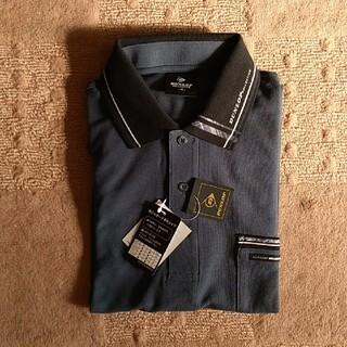 ダンロップ(DUNLOP)のダンロップ コレクション DUNLOP ポロシャツ 長袖 M インクブルー(ポロシャツ)