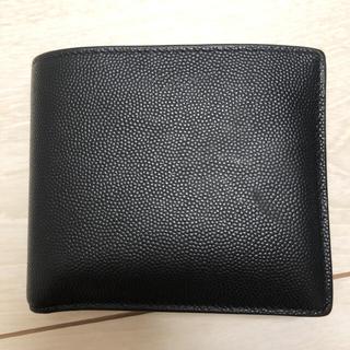 サンローラン(Saint Laurent)のSaint Laurent 2つ折り財布 ブラック(折り財布)