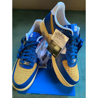 """UNDEFEATED - NIKE AIR FORCE 1 LOW """"BLUE/YELLOW""""27.5㌢"""