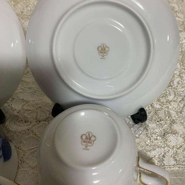 大倉陶園(オオクラトウエン)の大倉陶園  モーニングカップ&ソーサー 2客 インテリア/住まい/日用品のキッチン/食器(食器)の商品写真
