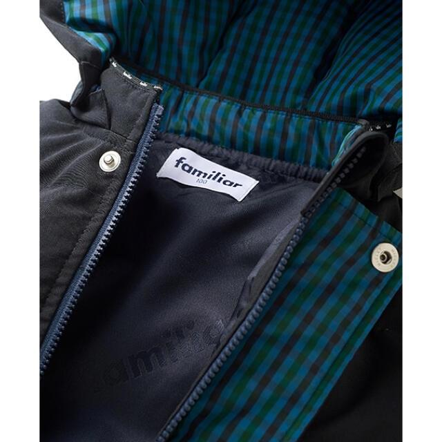 familiar(ファミリア)のfamiliar 新品未使用 ダウンジャケット キッズ/ベビー/マタニティのキッズ服男の子用(90cm~)(ジャケット/上着)の商品写真