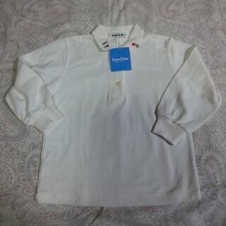 familiar - ファミリア ブラウス 長袖シャツ 100 白 お受験 未使用 タグ付き 通学