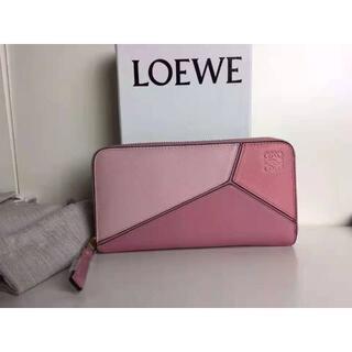 LOEWE - LOEWE パズル ラウンドジップ 長財布
