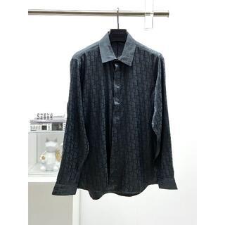 ディオール(Dior)のDIOR(ディオール)メンズ オブリーク コットンシャツ(シャツ)