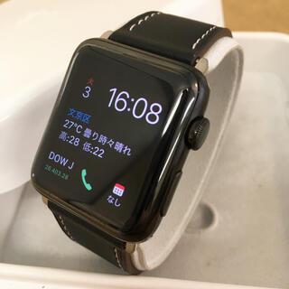 Apple Watch - アップルウォッチ 2 ブラックステンレス 42mm Apple Watch