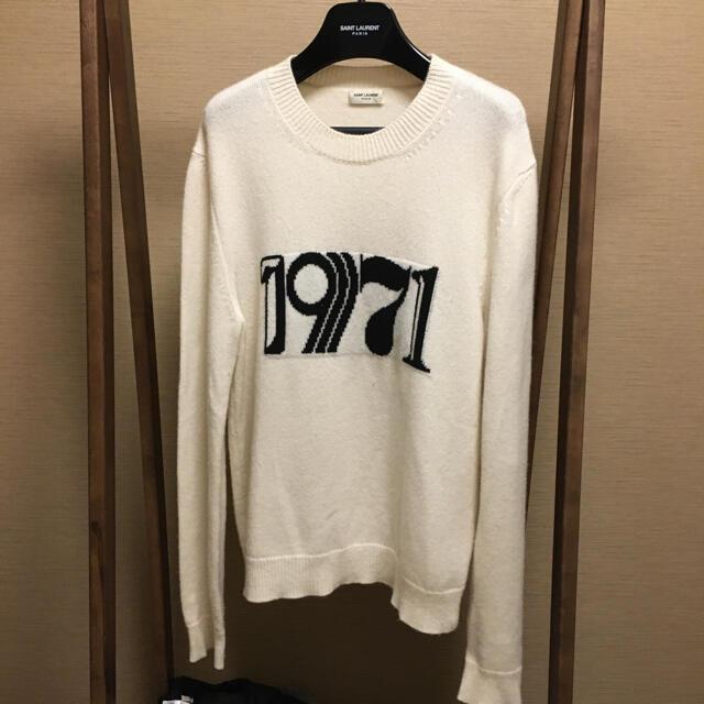 Saint Laurent(サンローラン)のsaint laurent 1971 100%カシミアニット メンズのトップス(ニット/セーター)の商品写真