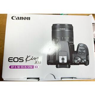 Canon - Canon 一眼レフ EOS Kiss X10 EF-S 18-55
