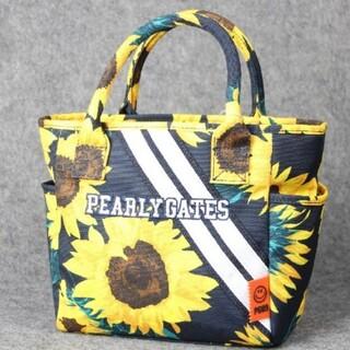 PEARLY GATES - 新品 PEARLY  GATES菊柄ゴルフレディースハンドバッグ