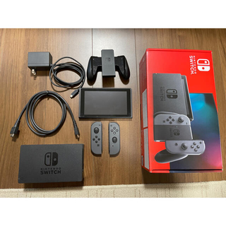 Nintendo Switch - 【ほぼ未使用】任天堂 Nintendo Switch本体 グレー 新モデル