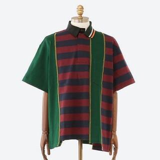 カラー(kolor)のKolor beacon  21ss ドッキングポロシャツ(Tシャツ/カットソー(半袖/袖なし))