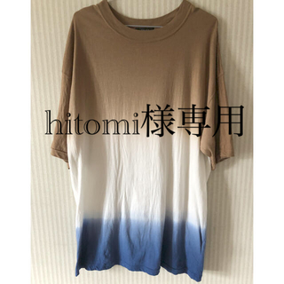 ジーナシス(JEANASIS)のJEANASIS ビックTシャツ(Tシャツ(半袖/袖なし))
