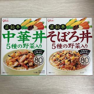グリコ(グリコ)のグリコ レトルト 中華丼 そぼろ丼(レトルト食品)