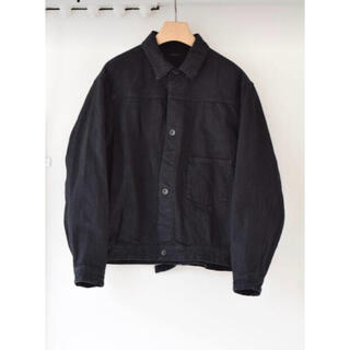 コモリ(COMOLI)のcomoli 20aw デニムジャケット 20aw BLACK siz3(Gジャン/デニムジャケット)