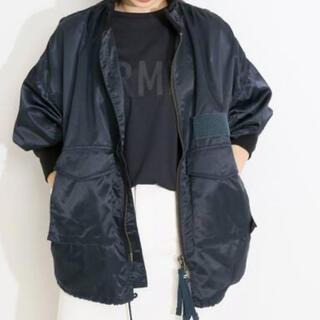 IENA - VERMEIL par iena コーチジャケット ネイビー