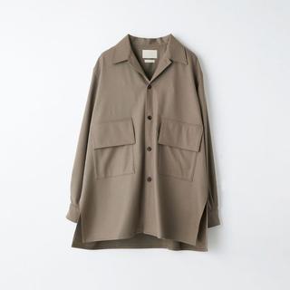 サンシー(SUNSEA)のYOKE 21AW Big Flap Long Shirt Size 3(シャツ)