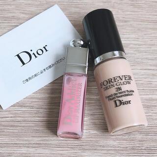 Dior - Dior ディオールスキンフォーエヴァーフルイドグロウ、マキシマイザー グロス