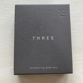 スリー(THREE)の【新品未開封】THREE シマリング グローデュオ 01(ファンデーション)