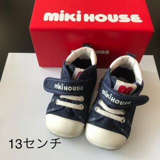 ミキハウス(mikihouse)のミキハウス スニーカー ファーストシューズ 13(スニーカー)