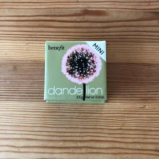 ベネフィット(Benefit)のbenefit dandelion フェイスパウダーミニ(フェイスパウダー)