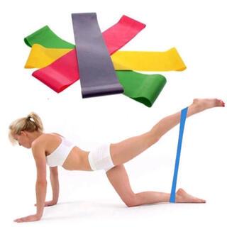 トレーニングチューブ  ヨガ バレエ ダンス 柔軟性 腰痛防止 ダイエット 痩身